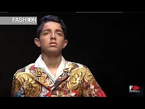 DOLCE&GABBANA Spring Summer 2013 Menswear Milan - Fashion Channel