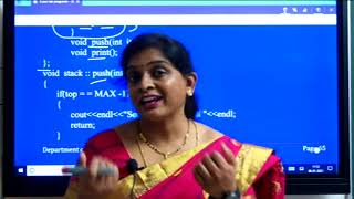 II PUC    Computer science   C++ and data structure programs   Practicals - 07