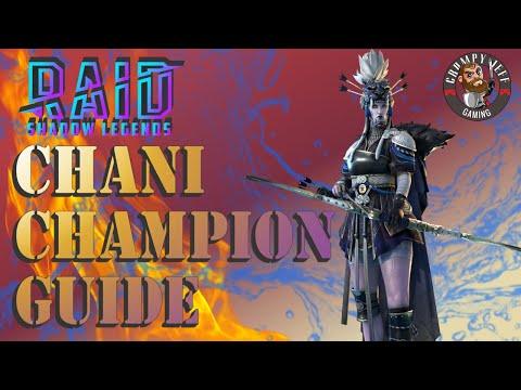 Raid Shadow Legends Chani Champion Guide👍🎉😒😜🤷♂️