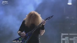 Megadeth Live at Hellfest.