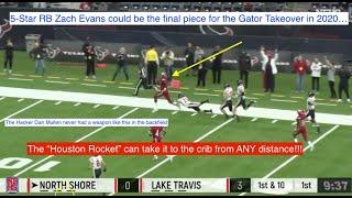 Freak RB Zach Evans to Gators is FRIGHTENING!!!