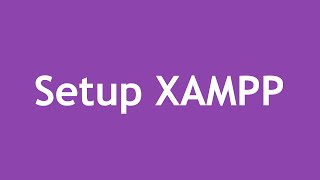 [ Learn PHP 5 In Arabic ] #03 - Setup & Configure XAMPP