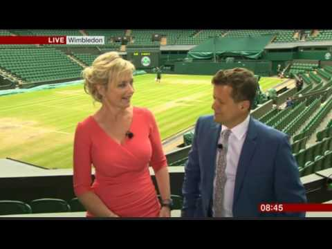 One last time  with Carol Kirkwood BBC Weather Star