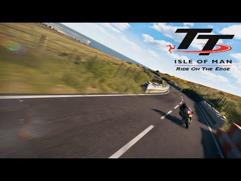 Practicing the Snaefell Mountain Course at Isle of Man TT