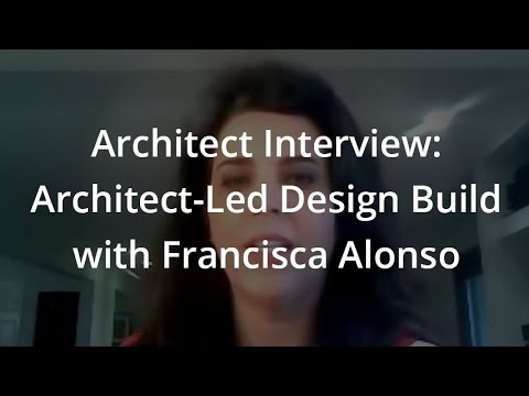 Architect Interview Architect Led Design Build With Francisca