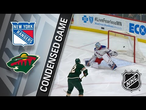 02/13/18 Condensed Game: Rangers @ Wild