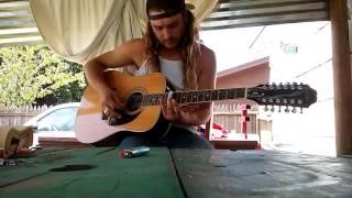 Nick Travis plays travelling riverside blues by led zeppelin