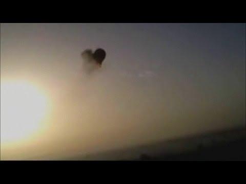 Amateur video of Egypt hot air balloon crash