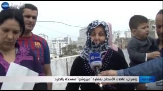 """وهران: عائلات الأسطح بعمارة """"ميروشو"""" مهددة بالطرد"""