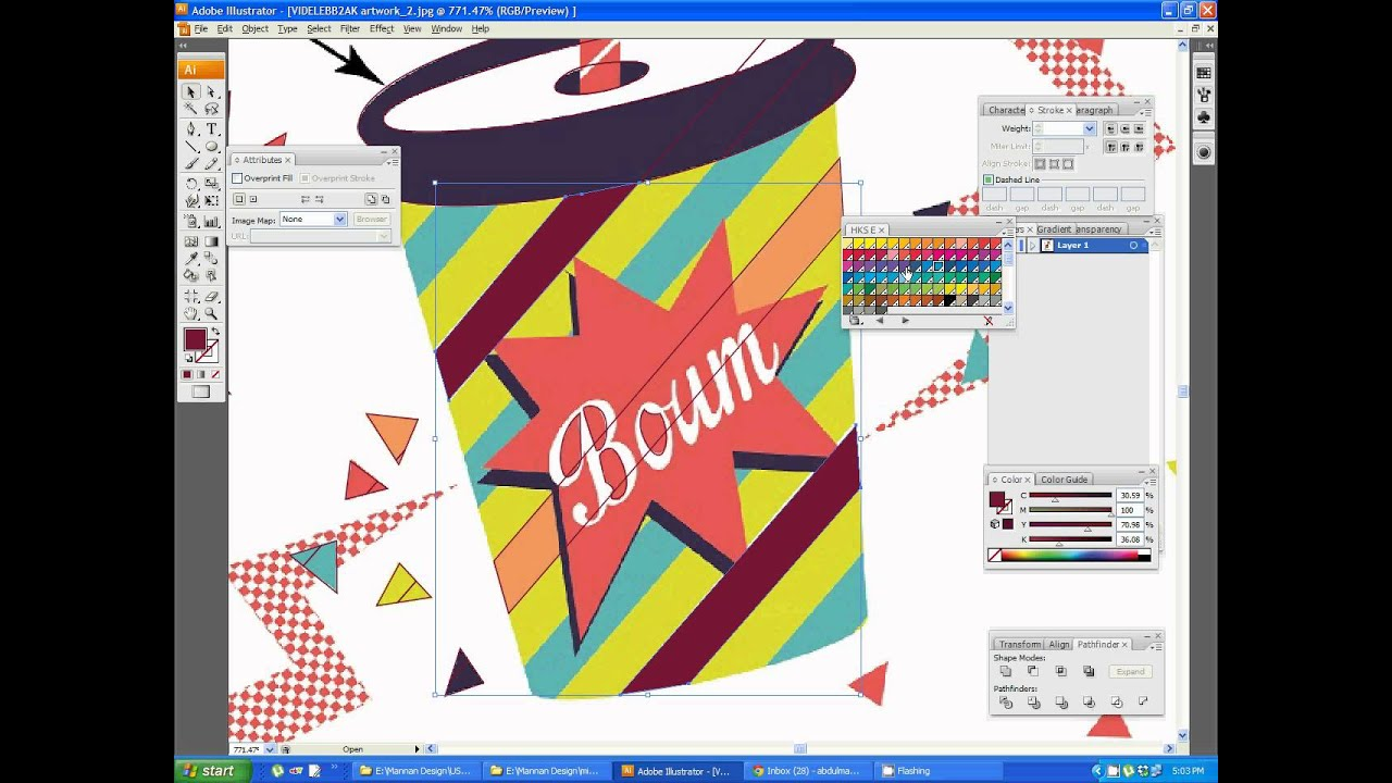 How To Make Color Separation For Screen Printing Illustrator