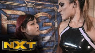 Io Shirai confronts Raquel González: WWE NXT, March 10, 2021