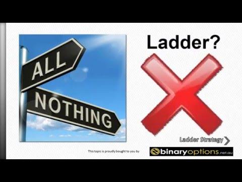 CWoption Ladder binary option trading