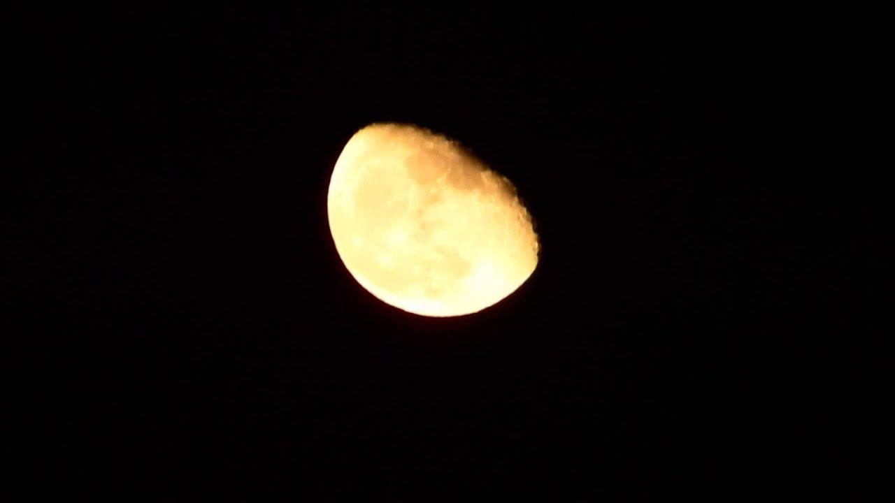 La luna en cuarto menguante 12 de octubre 2014 youtube for Cuarto menguante de la luna