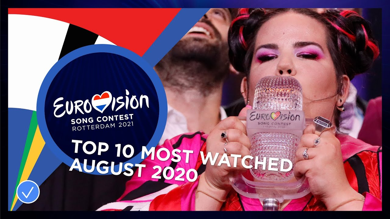TOP 10: Most watched in August 2020 - Eurovision Song Contest