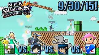 Super Smash Bros. - Smash It Up! (Wii U) - 9/30/15! Meet Your Mario Maker!