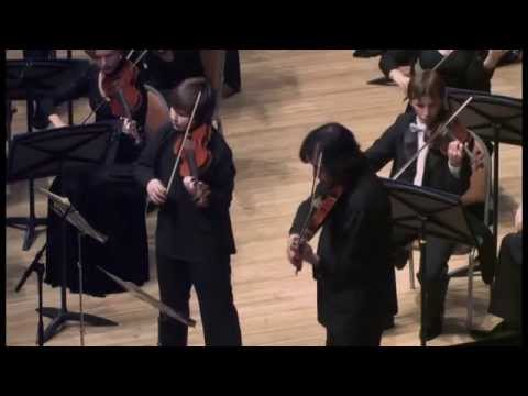 Bach Concerto for 2 Violins d-moll. Peter Fedotov,Maxim Fedotov Part III