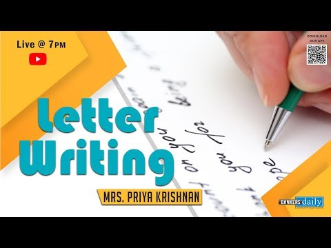 LETTER WRITING - DESCRIPTIVE WRITING FOR SYNDICATE BANK PO EXAM 2018