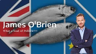 James O'Brien and wнat a load of Pollock