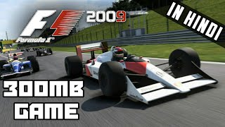 F1 2009 | Best Formula Racing Game For android [Only 300mb]