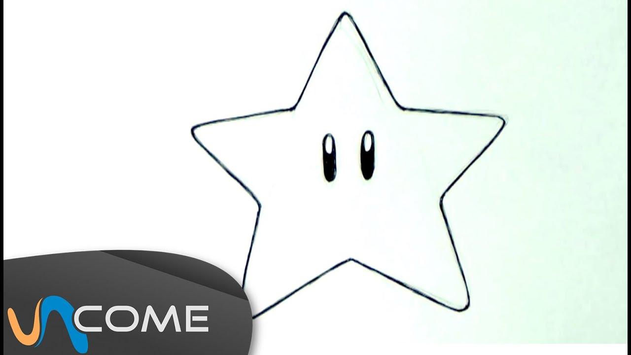 Come disegnare una stella passo per passo - YouTube