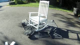 Vermont Porch Rocker Outdoor Rocking Chair Review