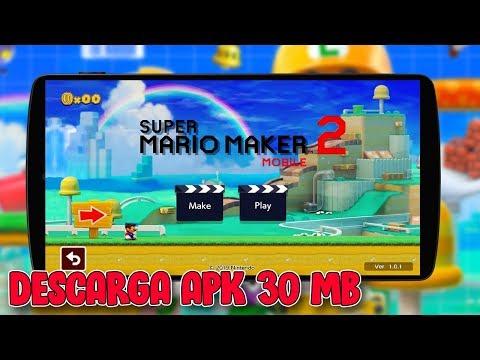 🥇 DESCARGA MARIO MAKER 2 MOBILE APK PARA CUALQUIER ANDROID 2019