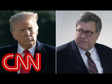 Trump defends decision to give Barr unprecedented powers