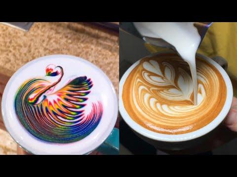 Amazing Cappuccino Latte Art Skills 2019 ❤️