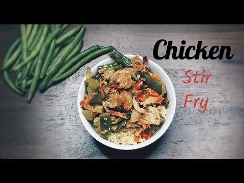 Chicken Stir Fry || Couscous