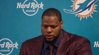 Video: Miami Dolphins Ndamukong Suh speaks after loss to the Patriots