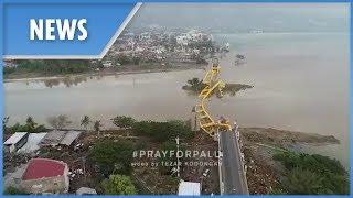Video Indonesia: drone footage shows devastation after tsunami (Palu) download MP3, 3GP, MP4, WEBM, AVI, FLV November 2018
