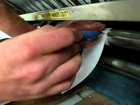 Measuring Shaft Diameter On Bindery Equipment - A Quick Tip