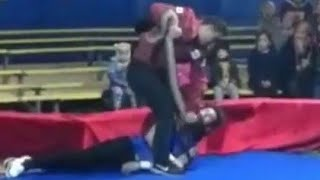 Russian Circus Performer Killed by Snake in Front of Kids . WARNING: GRAPHIC MATERIAL