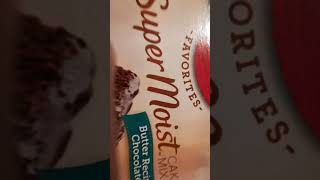 Super Moist Cake Mix