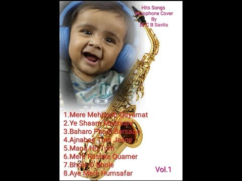 Hits Songs Saxophone Cover Dr C B Savita Vol 1