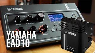 Conoce el Yamaha EAD10 módulo para batería acústica