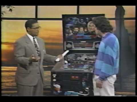 Pinball History: Today Show 1993 Lyman Sheats PAPA 3