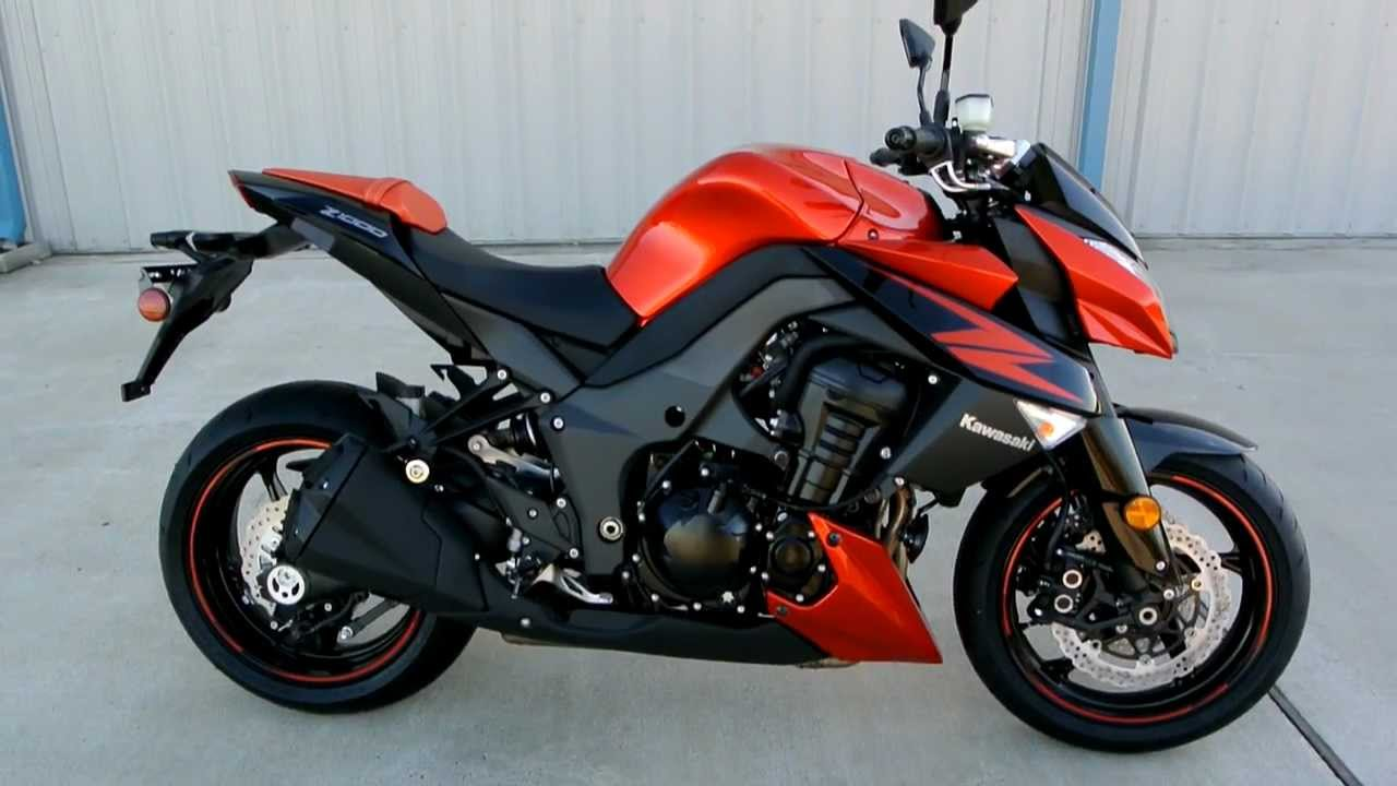 2012 Kawasaki Z1000 Candy Burnt Orange Overview And Review