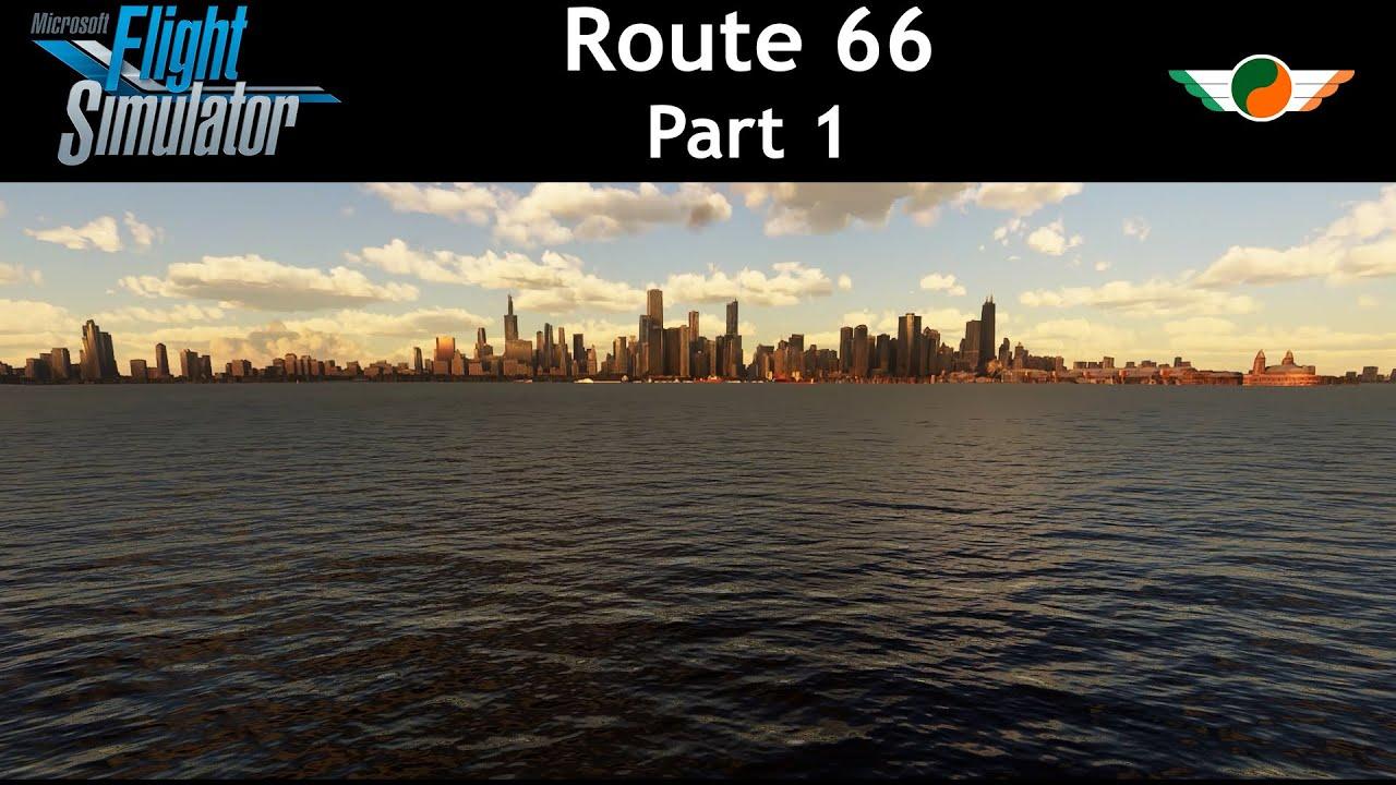 Microsoft Flight Sim - Getting Our Kicks Pt1 - YouTube