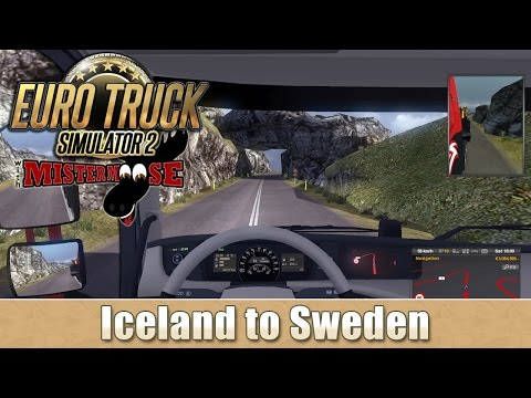 Euro Truck Simulator 2 - Large Dozer from Iceland to Sweden