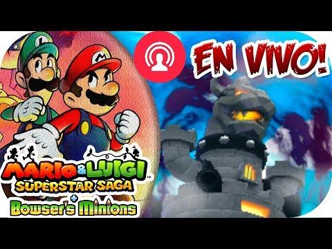 ¡El CASTILLO de #Bowser! | [3DS] Mario & Luigi Superstar Saga | Ep. 25 con --ALEX--