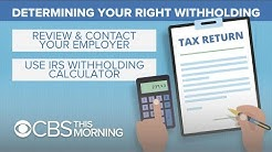 What's behind lower tax refunds?