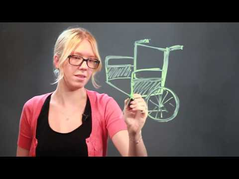 How to Draw a Wheelchair in 3D