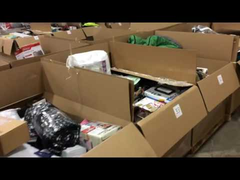 What's in the Box - Edmonton Auction #1 - Store Returns from Major Retailer
