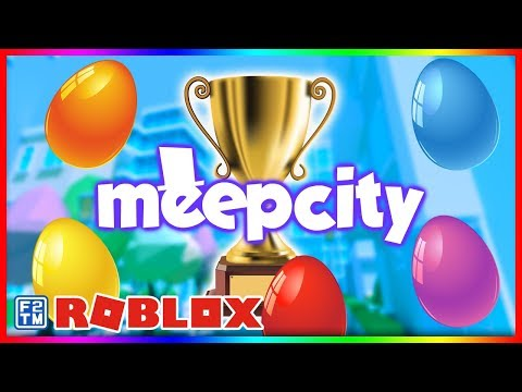 How To Find All 5 Meep City Easter Eggs Roblox Meepcity Egg
