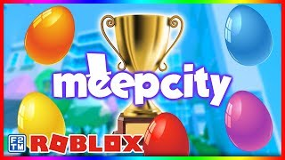 How to Find All 5 Meep City Easter Eggs! 🐰 | Roblox MeepCity Egg Hunt
