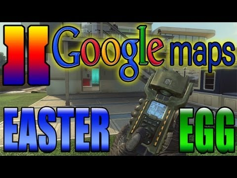 "BO2 ""Google Maps TAC INSERT Easter Egg"" (Nuketown Right By Area 51) ""Black Ops 2"""