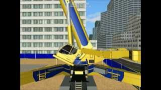 【Rigs of Rods】Lifting a Heavy equipment