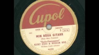 Radio-Fantomerna Kurt Foss & Reidar Böe - Min röda gitarr