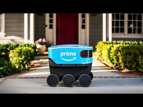 DZL - Amazon just announced Scout - Self driving delivery device